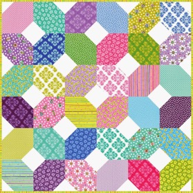 XOXO quilt pattern